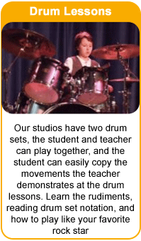 Drum Lessons at the Frisco School of Music