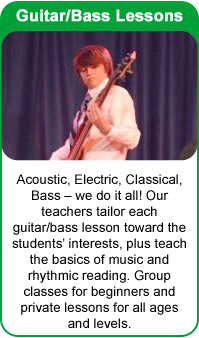 Guitar Lessons at the Frisco School of Music